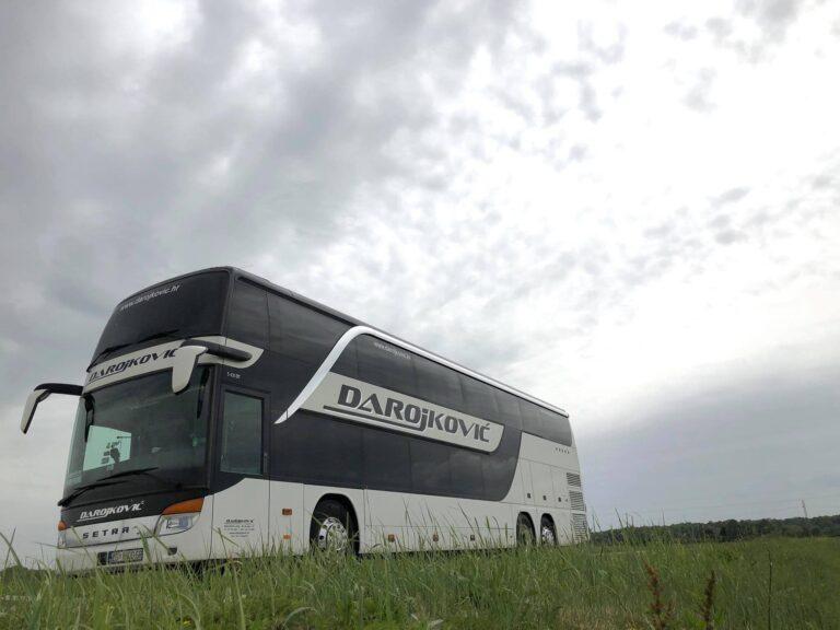 Najam autobusa Setra 431 DT