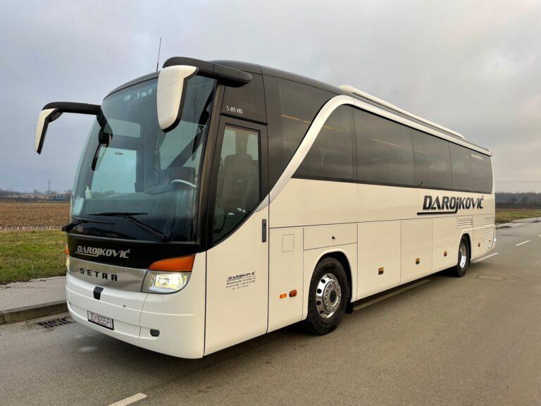 Najam autobusa Setra 415 HD
